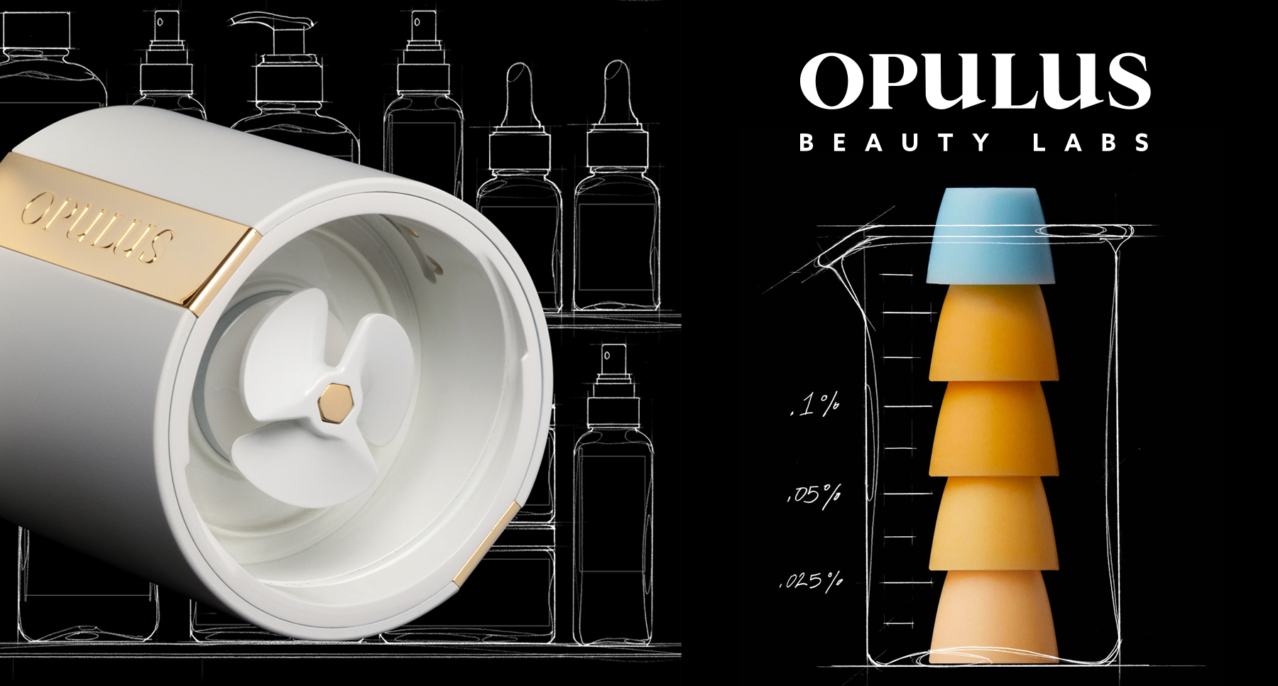 Beauty brand Opulus as part of a beauty insights blog