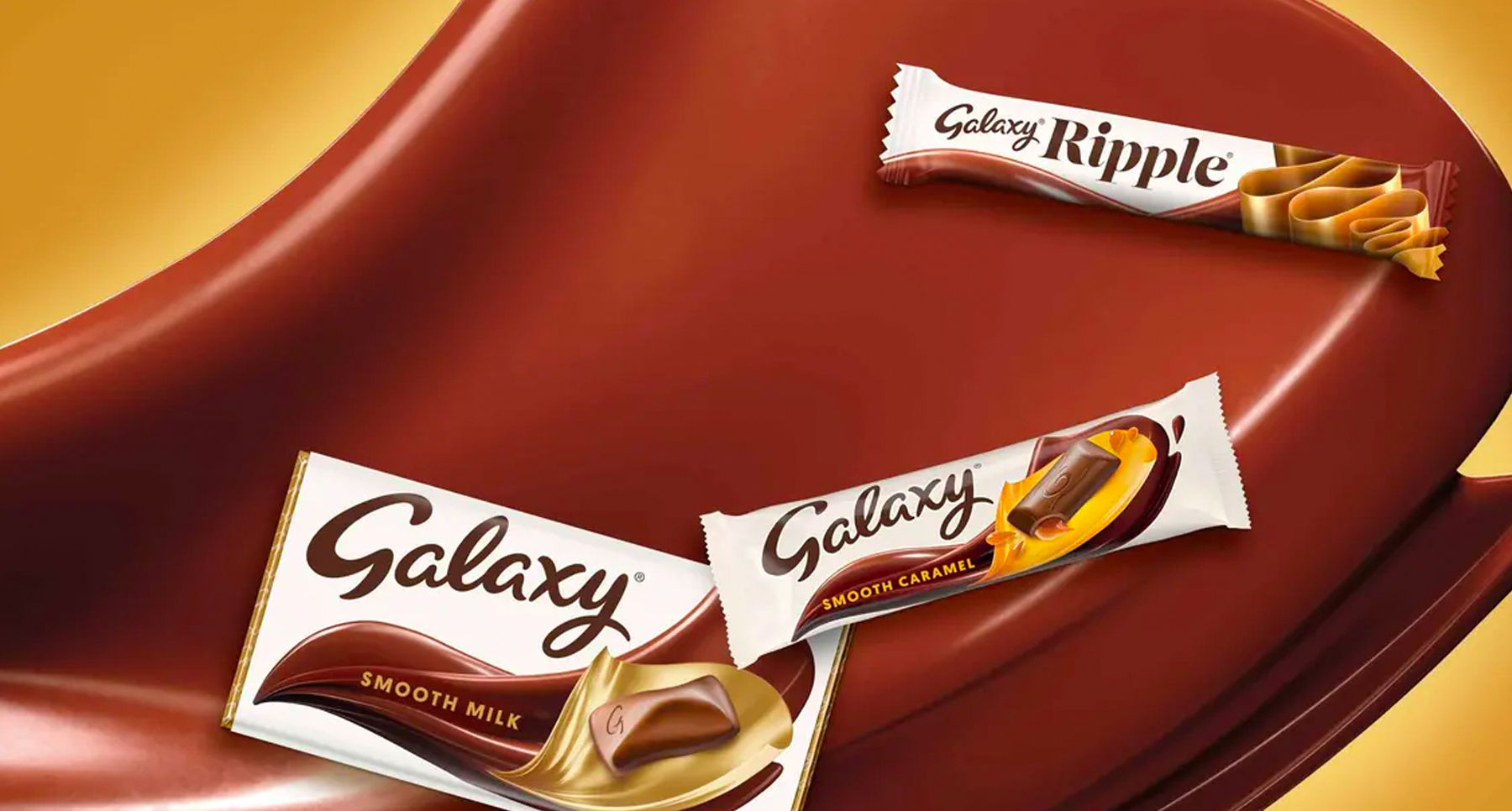 Chocolate brand galaxy advertisement World Chocolate Day