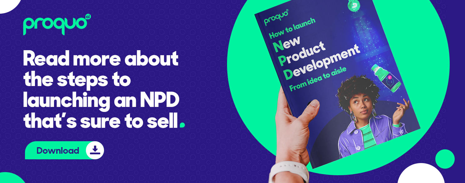 NPD, launching a new product into market, CTA