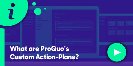 Resource Hub Feature - What are ProQuos Custom-Action Plans?