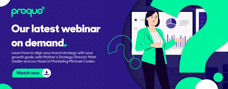 Brand storytelling and marketing strategy webinar CTA