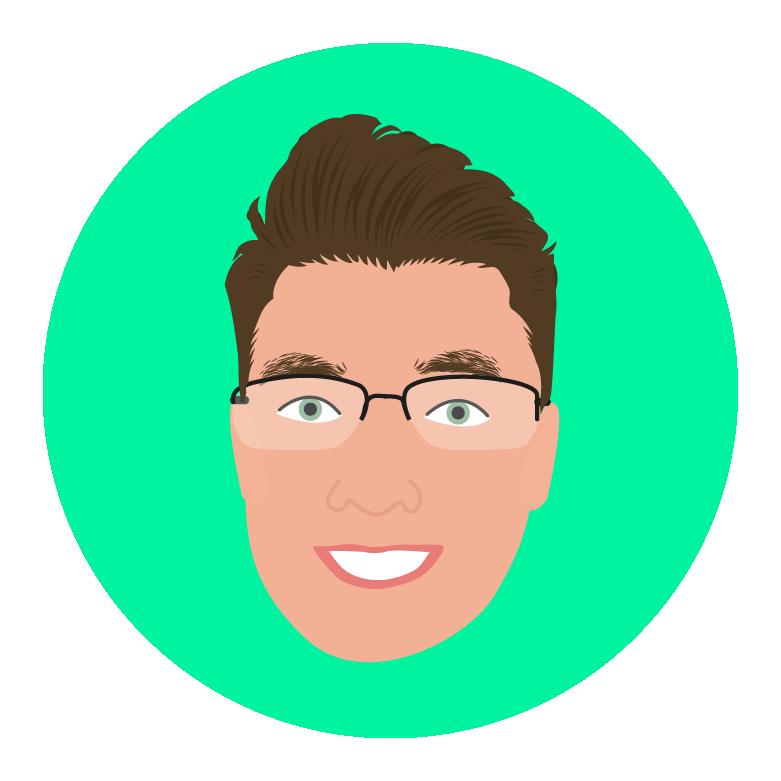 Adam Borlase Green Circular Avatar