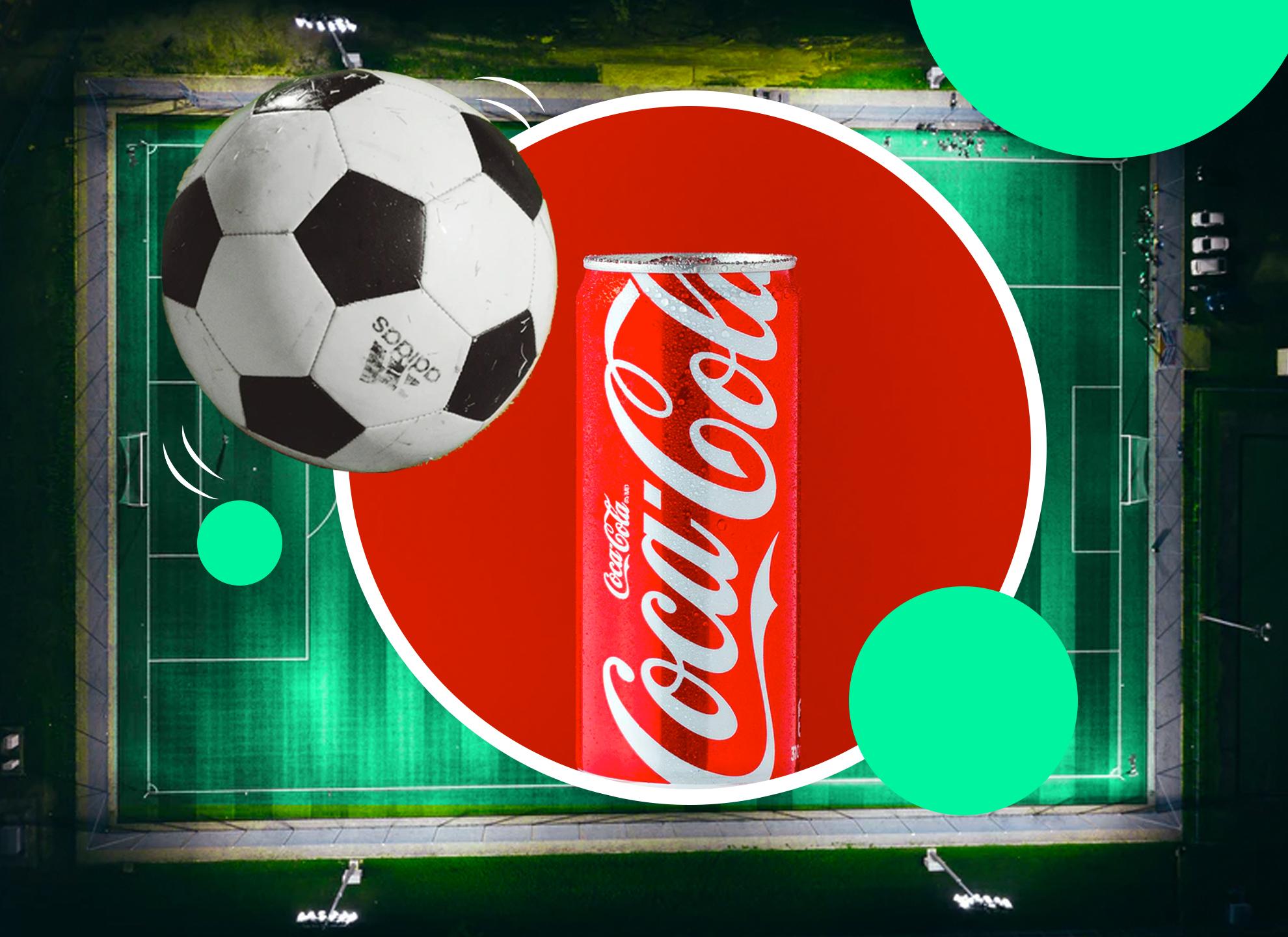 Brand Coca Cola and football's UEFA partnership