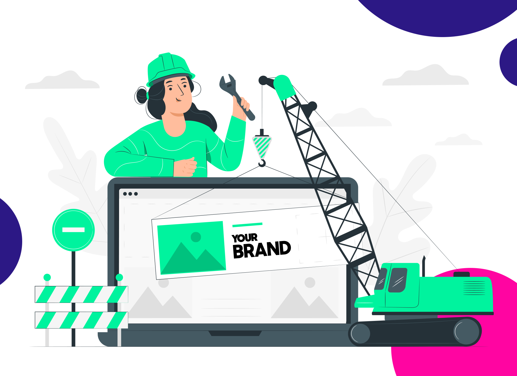 Brand Manager building a brand
