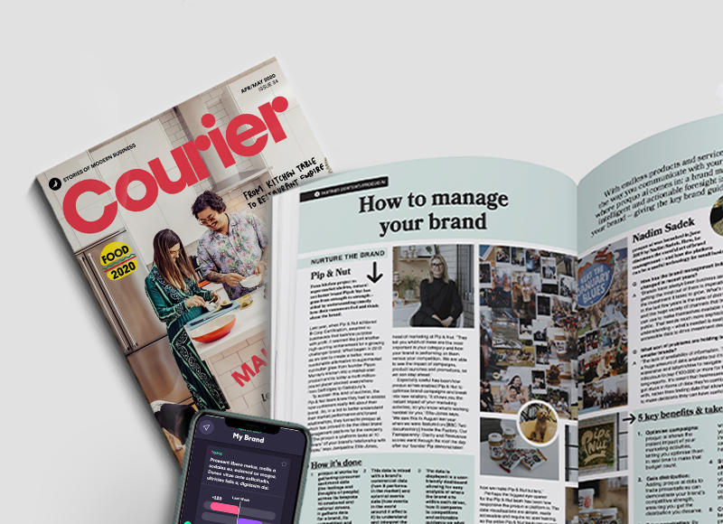 Courier: Pip & Nut Case Study