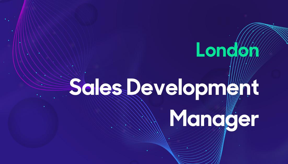 Sales Development Manager, UK Thumbnail