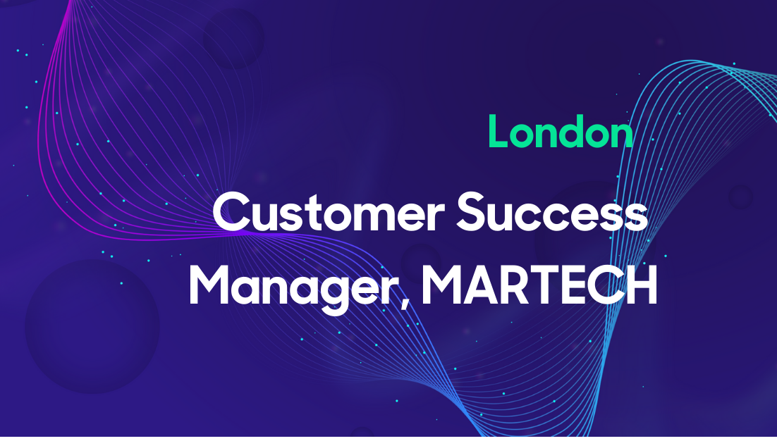 Customer Success Manager, MARTECH   Thumbnail