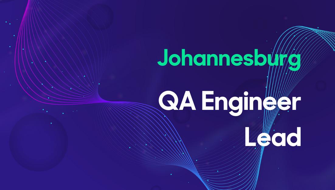 QA Engineer Lead Thumbnail