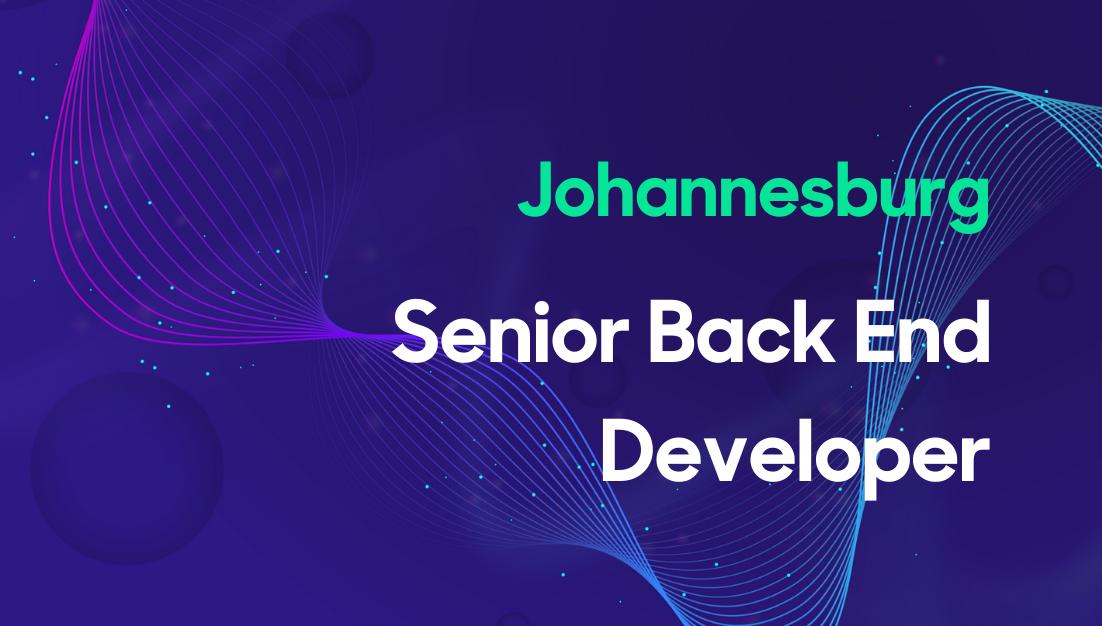 Senior Back End Developer Thumbnail