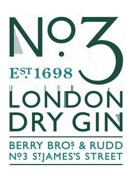 no3 gin logo